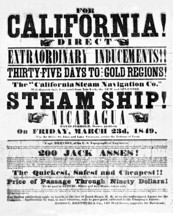 California_Gold_Rush_handbill
