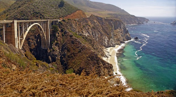 Bixby Creek Bridge on California's Big Sur.