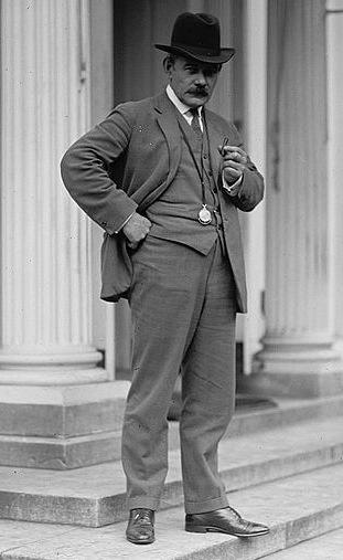 Gutzon Borglum at The White House