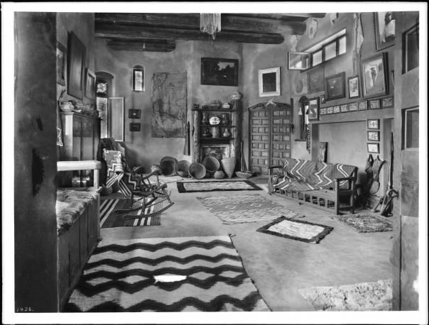 Interior view of El Alisal