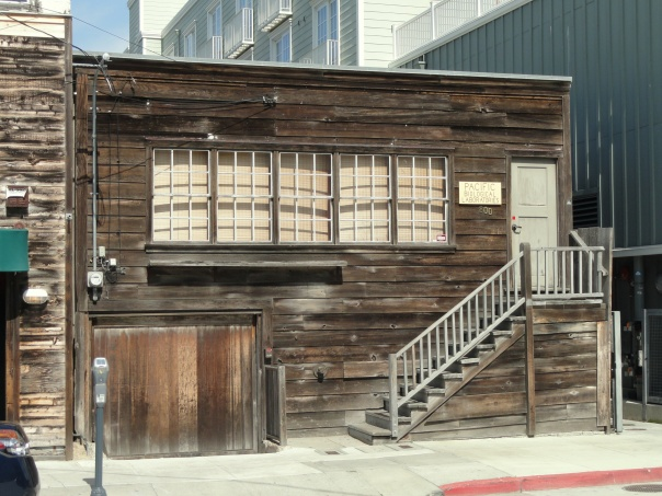 Remains of the Pacific Biological Laboratory maintained by Doc Ricketts and immortalized in John Steinbeck's Cannery Row; protected against abutting new construction