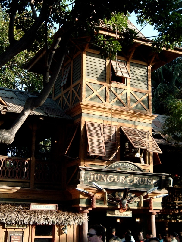 Jungle Cruise entrance, Disneyland