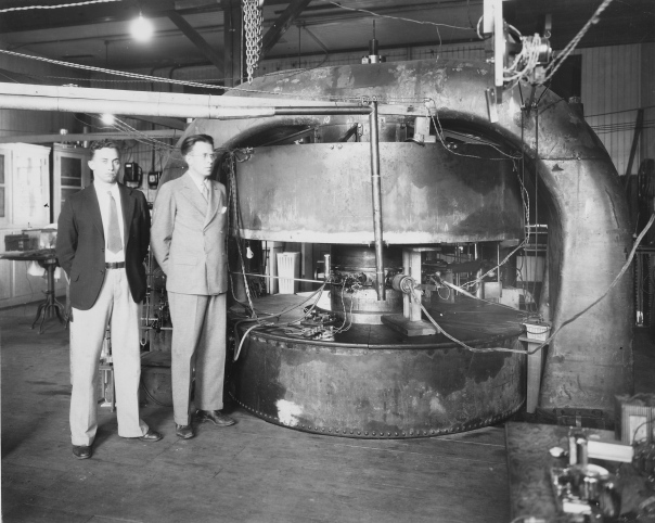 The 27-inch cyclotron at UC Berkeley
