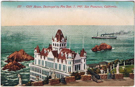 Cliff House, San Francisco, before 1907