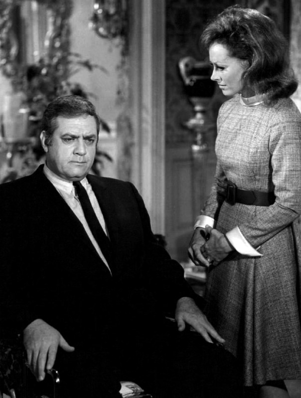 Raymond Burr as Ironside