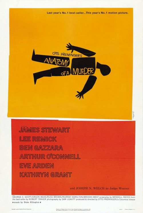 Movie poster for Otto Preminger's film
