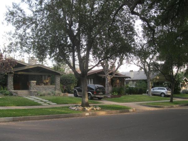 California bungalows