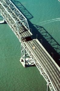 Collapse of Bay Bridge section, Loma Prieta Earthquake 1984