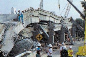 Oakland Freeway collapse, Loma Prieta Earthquake 1984