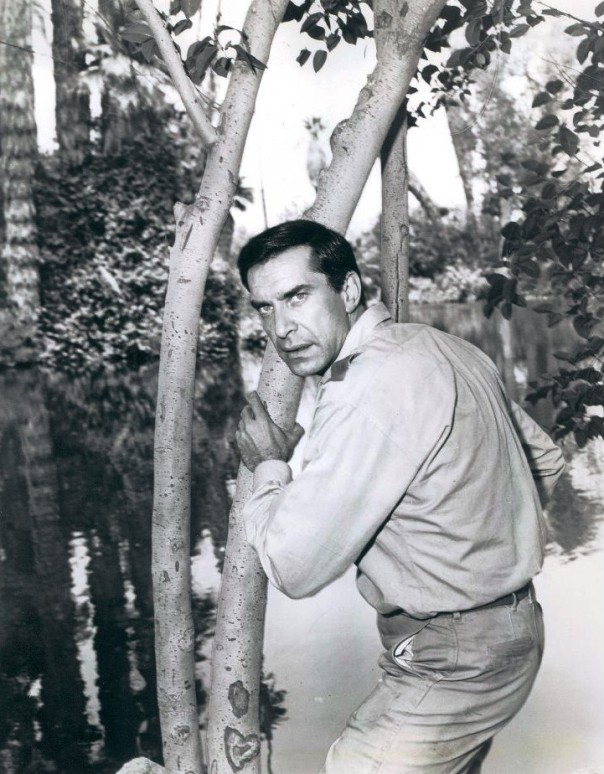 Martin Landau in Mission Impossible (not a real jungle)