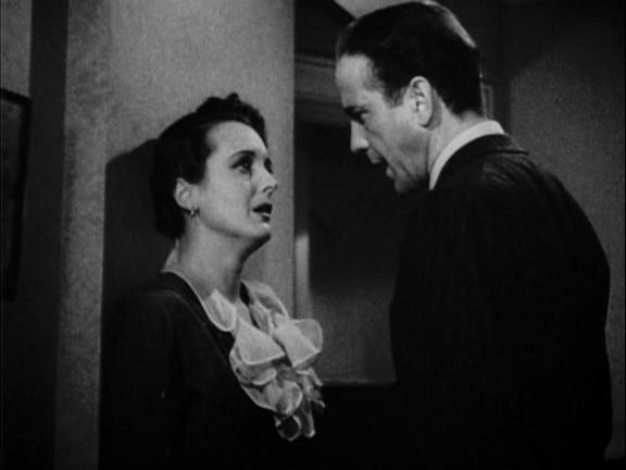 Bogart as Sam Spade, with Mary Astor