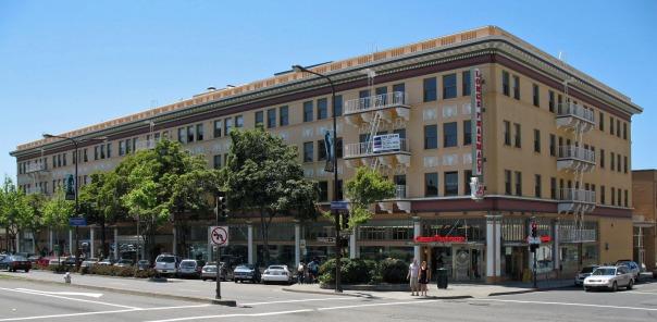 Corder Building, Shattuck Ave, Berkeley (Credit: Sanfranman59)