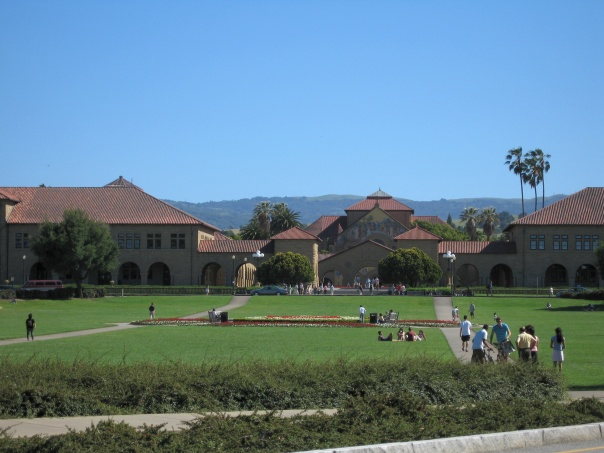 Entrance to Stanford