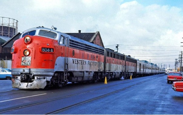 The California Zephyr in its later years