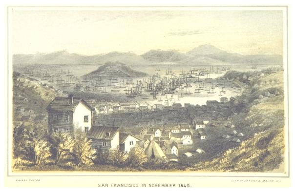 San Francisco 1849, as illustrated in Eldorado