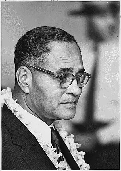 Ralph Bunche, 1963