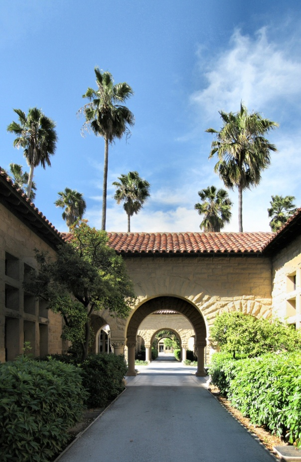 Stanford University Inner Quadrangle Walkway