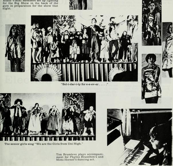 Typical yearbook page, 1969