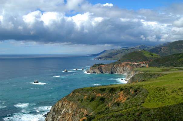 Big Sur coastline - Monterey County