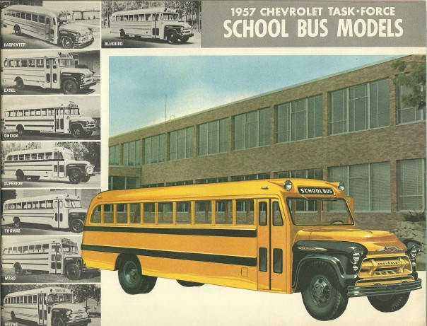 1957 Chevrolet school bus (Credit: John Lloyd)