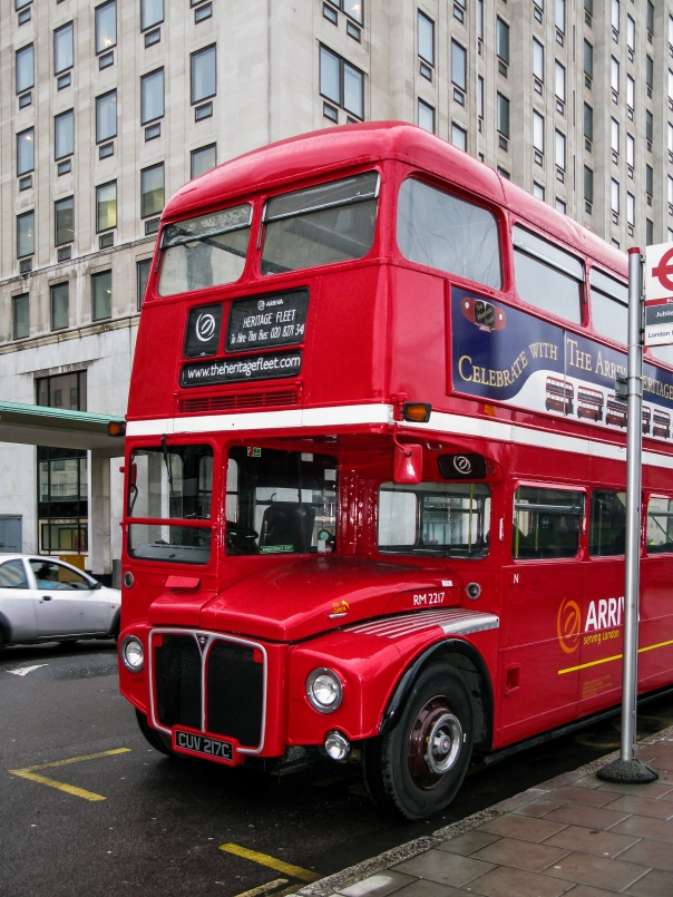 London bus, 2010 (Credit: Dietmar Rabich)