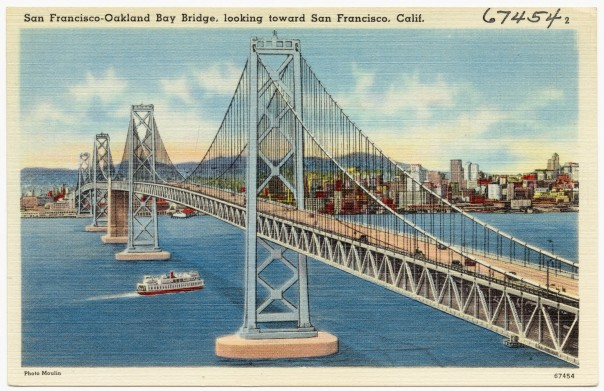 San Francisco-Oakland Bay Bridge, c. 1940