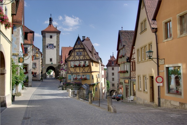 Rothenburg ob der Tauber, Germany (Credit: Berthold Werner)
