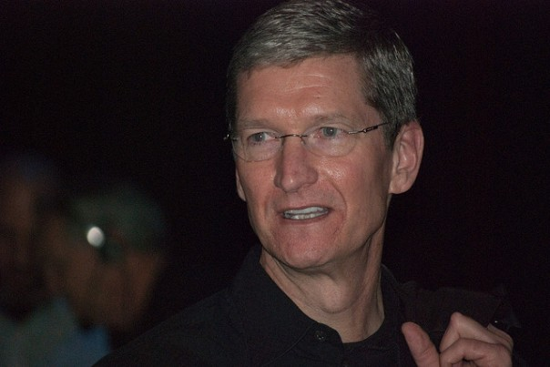 Apple CEO Tim Cook (Credit: Valerie Marchive)