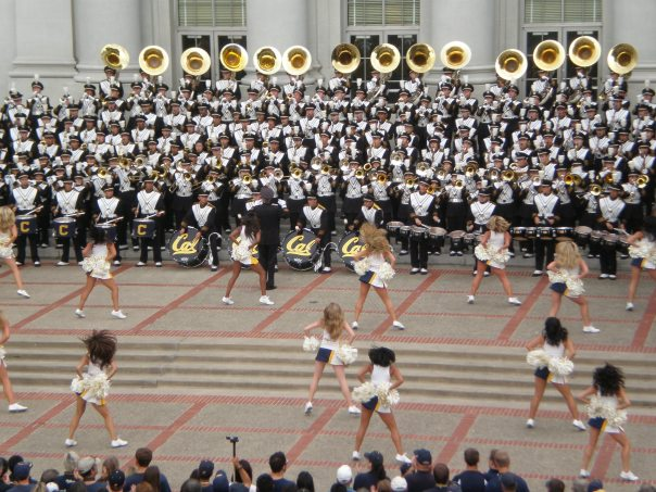 The Cal Marching Band (Credit: Broken Sphere)
